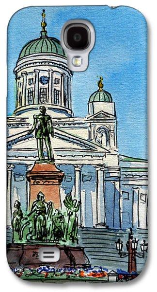 Helsinki Finland Galaxy S4 Case by Irina Sztukowski