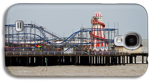 Rollercoaster Photographs Galaxy S4 Cases - Helter Skelter Galaxy S4 Case by Martin Newman