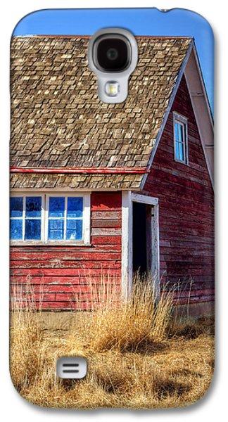 Outbuildings Galaxy S4 Cases - Hen House #1 Galaxy S4 Case by Nikolyn McDonald