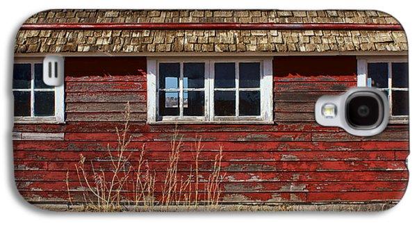 Outbuildings Galaxy S4 Cases - Hen House Windows Galaxy S4 Case by Nikolyn McDonald
