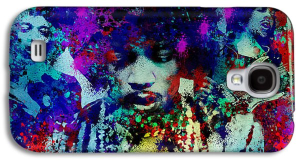 Recently Sold -  - Abstract Digital Digital Art Galaxy S4 Cases - Hendrix 3 Galaxy S4 Case by MB Art factory