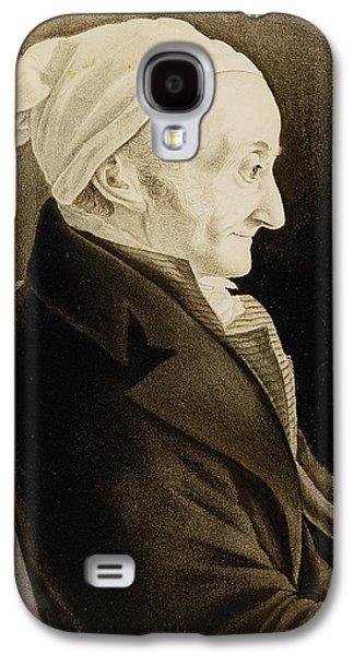 Chair Drawings Galaxy S4 Cases - Henri De Gallon Galaxy S4 Case by John James Audubon