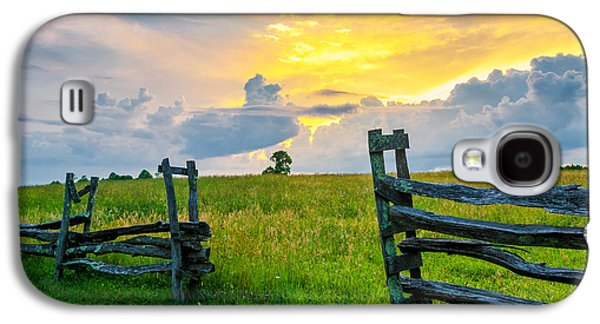 Split Rail Fence Galaxy S4 Cases - Rapture Galaxy S4 Case by Anthony Heflin