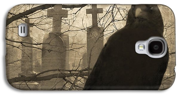 Graveyard Galaxy S4 Cases - Her Graveyard Galaxy S4 Case by Gothicolors Donna Snyder