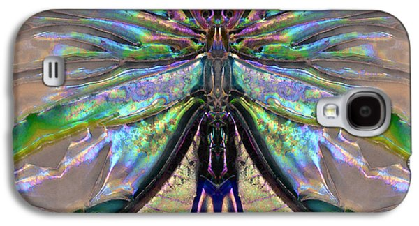 Affirmation Galaxy S4 Cases - Her Heart Has Wings - Spiritual Art By Sharon Cummings Galaxy S4 Case by Sharon Cummings