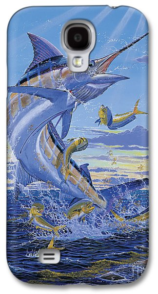 Marlin Azul Galaxy S4 Cases - Her Majesty Off0028 Galaxy S4 Case by Carey Chen