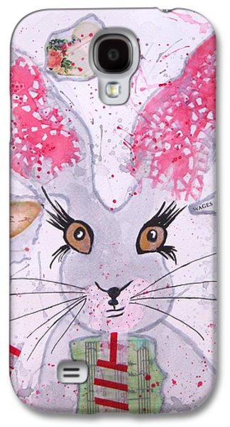 March Hare Galaxy S4 Cases - Herby hare Galaxy S4 Case by Karen  Connolly