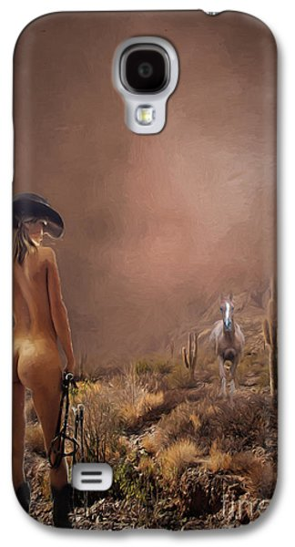 Photorealistic Galaxy S4 Cases - Here Boy Galaxy S4 Case by Jim  Hatch
