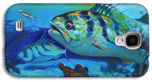 Sportfishing Galaxy S4 Cases - Here Comes The Rooster Galaxy S4 Case by Mike Savlen