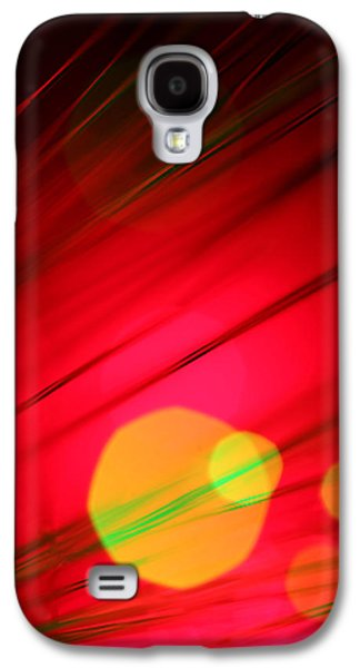 Abstract Digital Photographs Galaxy S4 Cases - Here Comes the Sun Galaxy S4 Case by Dazzle Zazz