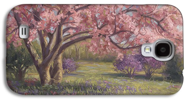 Plein Air Galaxy S4 Cases - Heres The Spring Galaxy S4 Case by Lucie Bilodeau