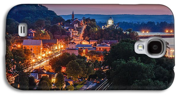 4th July Galaxy S4 Cases - Hermann Missouri - a most beautiful town Galaxy S4 Case by Tony Carosella
