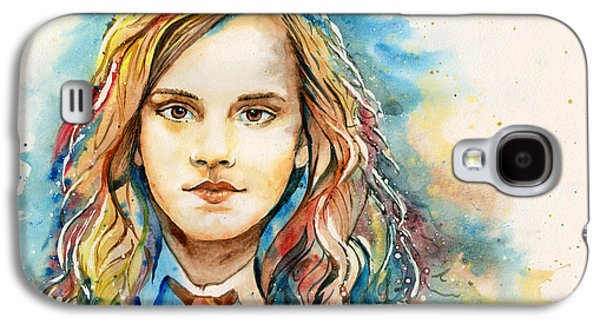 Hermione Granger Galaxy S4 Cases - Hermione  Galaxy S4 Case by Alina Kurbiel