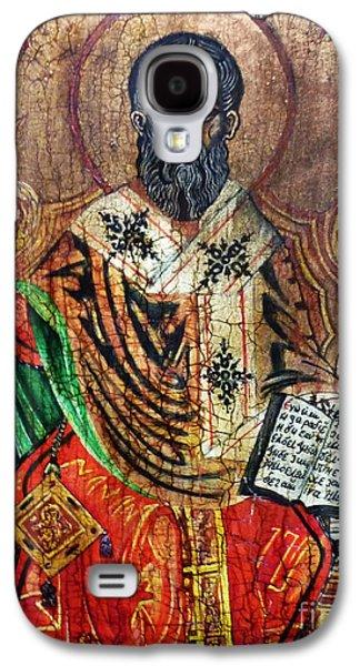 Greek Icon Paintings Galaxy S4 Cases - Herod Antipas Galaxy S4 Case by Ryszard Sleczka