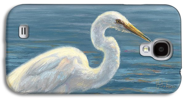Heron Light Galaxy S4 Case by Lucie Bilodeau