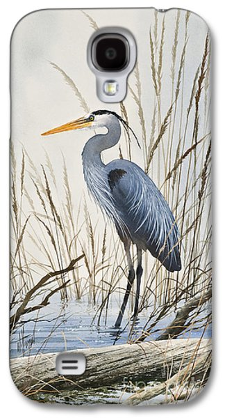 Herons Natural World Galaxy S4 Case by James Williamson