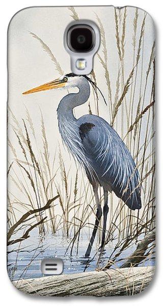 Heron Paintings Galaxy S4 Cases - Herons Natural World Galaxy S4 Case by James Williamson