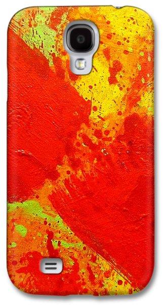 Abstract Movement Galaxy S4 Cases - Hiatus Galaxy S4 Case by John  Nolan