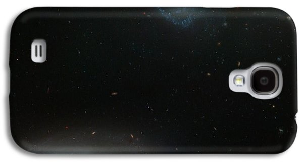 Space Paintings Galaxy S4 Cases - Hickson Compact Group Galaxy S4 Case by Celestial Images