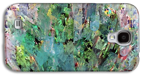 Impressionism Tapestries - Textiles Galaxy S4 Cases - Hidden Bush Galaxy S4 Case by Claire Masters