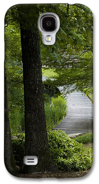 Overhang Photographs Galaxy S4 Cases - Hidden Pathway Galaxy S4 Case by Shelby  Young