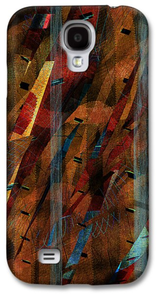 Abstract Digital Paintings Galaxy S4 Cases - Hide and Seek  Galaxy S4 Case by Yul Olaivar
