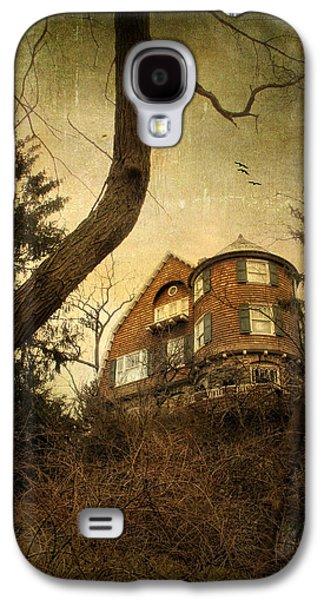 Spooky Digital Galaxy S4 Cases - Hideaway Galaxy S4 Case by Jessica Jenney