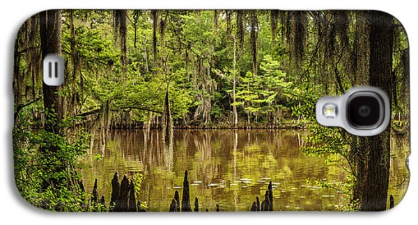 Tamyra Ayles Galaxy S4 Cases - Hiding on Caddo Lake Galaxy S4 Case by Tamyra Ayles