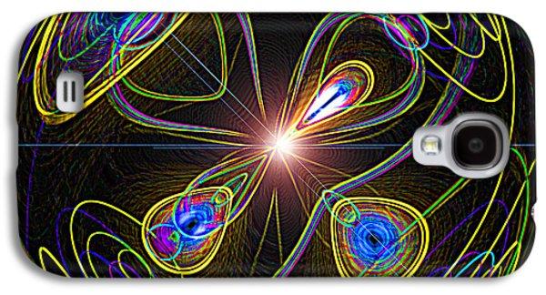 Higgs Boson Galaxy S4 Case by Samuel Sheats