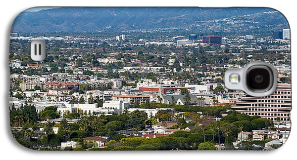 Studio Photography Galaxy S4 Cases - High Angle View Of A City, Culver City Galaxy S4 Case by Panoramic Images