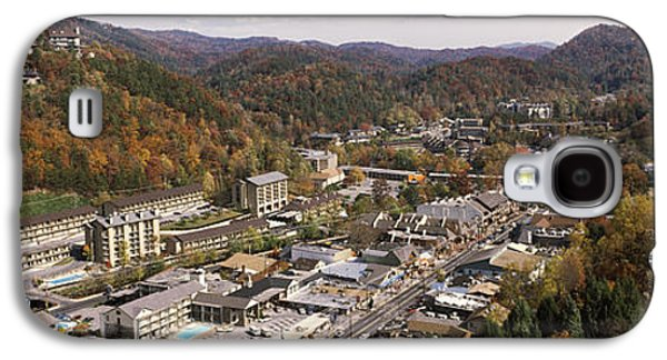 Gatlinburg Galaxy S4 Cases - High Angle View Of A City, Gatlinburg Galaxy S4 Case by Panoramic Images