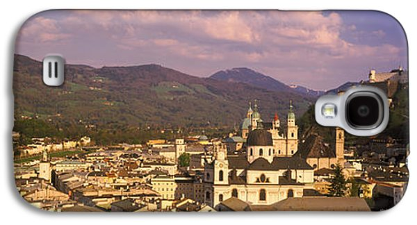 Salzburg Galaxy S4 Cases - High Angle View Of A City, Salzburg Galaxy S4 Case by Panoramic Images
