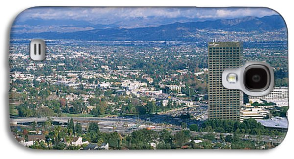Studio Photography Galaxy S4 Cases - High Angle View Of A City, Studio City Galaxy S4 Case by Panoramic Images