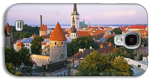 Tallinn Galaxy S4 Cases - High Angle View Of A City, Tallinn Galaxy S4 Case by Panoramic Images