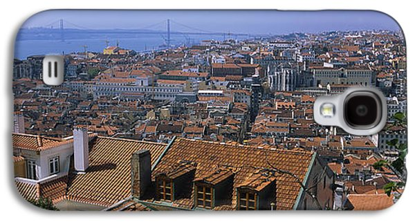 High Angle View Of A City Viewed Galaxy S4 Case by Panoramic Images