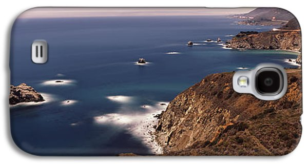 High Angle View Of A Coastline, Big Galaxy S4 Case by Panoramic Images