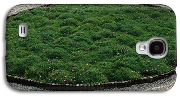 Garden Scene Galaxy S4 Cases - High Angle View Of A Japanese Garden Galaxy S4 Case by Panoramic Images
