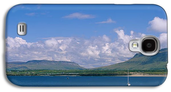 Sailboat Images Galaxy S4 Cases - High Angle View Of A Sailboat, Donegal Galaxy S4 Case by Panoramic Images