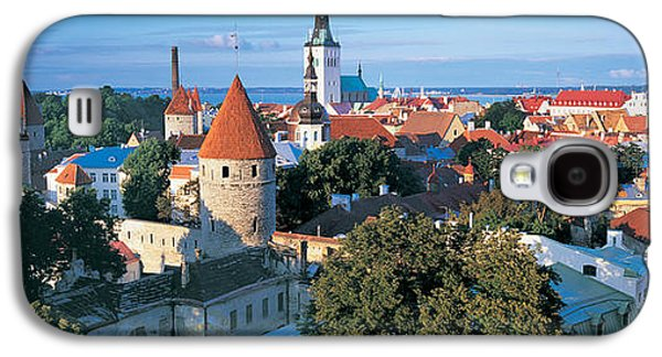 Tallinn Galaxy S4 Cases - High Angle View Of A Town, Tallinn Galaxy S4 Case by Panoramic Images