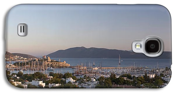 Built Structure Galaxy S4 Cases - High Angle View Of A Town, The Castle Galaxy S4 Case by Panoramic Images