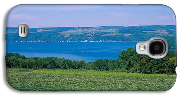 Locations Galaxy S4 Cases - High Angle View Of A Vineyard Galaxy S4 Case by Panoramic Images