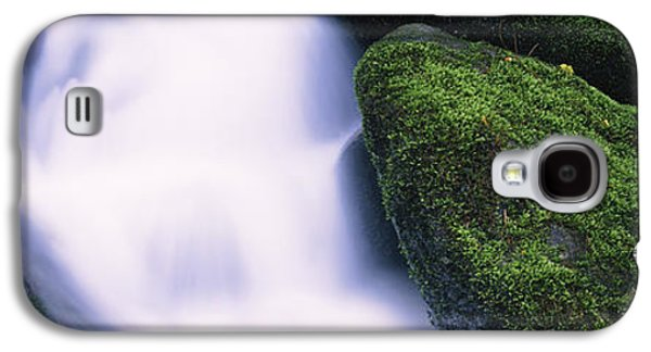 Tennessee Landmark Galaxy S4 Cases - High Angle View Of A Waterfall, Roaring Galaxy S4 Case by Panoramic Images
