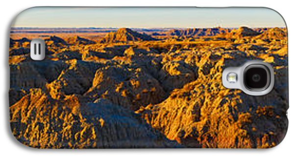 White River Scene Photographs Galaxy S4 Cases - High Angle View Of White River Overlook Galaxy S4 Case by Panoramic Images