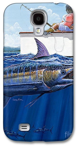 Marlin Galaxy S4 Cases - High Fives Off0043 Galaxy S4 Case by Carey Chen