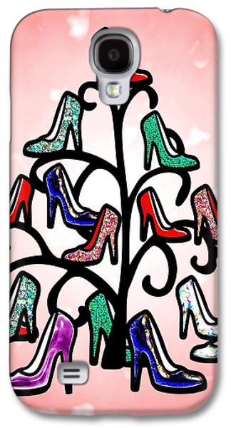 Decorative Galaxy S4 Cases - High Heels Tree Galaxy S4 Case by Anastasiya Malakhova