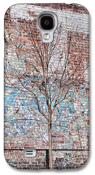Urban Photographs Galaxy S4 Cases - High Line Palimpsest Galaxy S4 Case by Rona Black