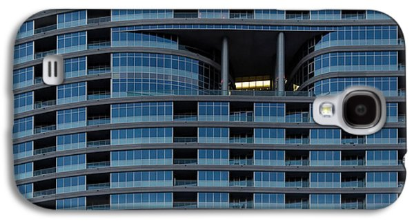 Architecture Acrylic Prints Galaxy S4 Cases - High Rise Windows Galaxy S4 Case by Julie Niemela