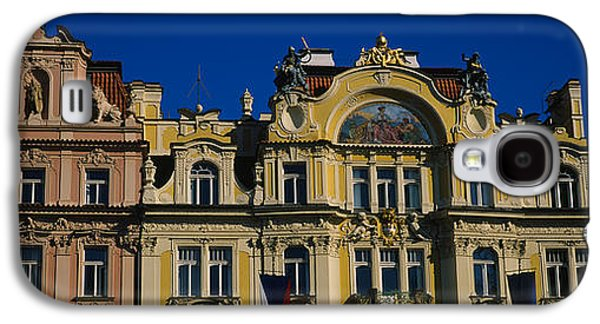 Town Square Galaxy S4 Cases - High Section View Of Buildings, Prague Galaxy S4 Case by Panoramic Images