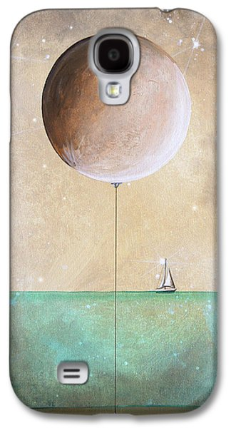 Sailboat Ocean Paintings Galaxy S4 Cases - High Tide Galaxy S4 Case by Cindy Thornton