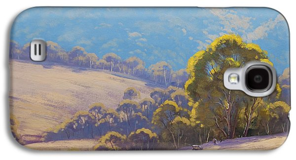 Shed Galaxy S4 Cases - Highland grazing Lithgow Galaxy S4 Case by Graham Gercken